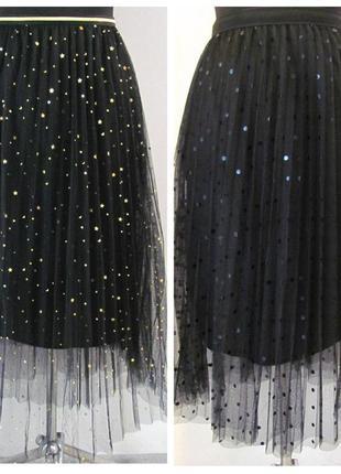 Пышная юбка из фатина на резинке. размер 42-48 код 1336м