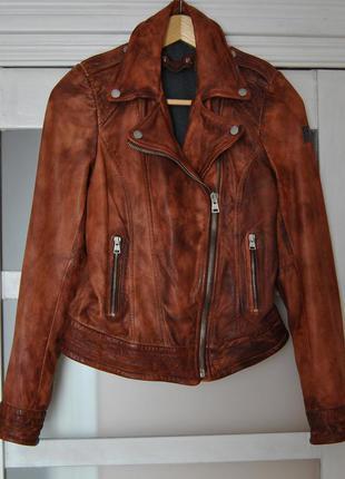 Кожаная куртка косуха freaky nation / шкіряна куртка