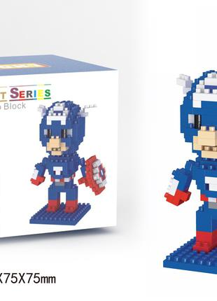 3D Конструктор LEGO Капитан Америка