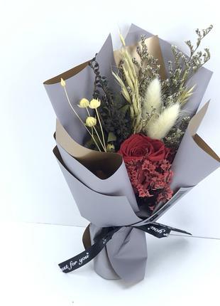 Букет цветов- сухоцветов BOUQUET OF FLOWERS