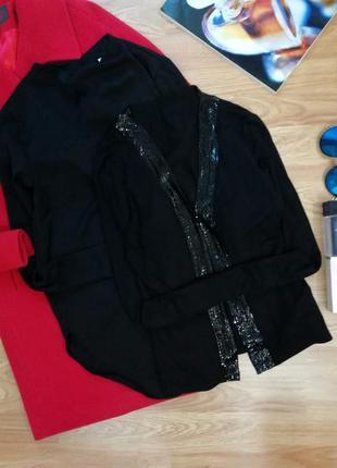 Женская легкая нарядная кофта - накидка next - размер 44-46