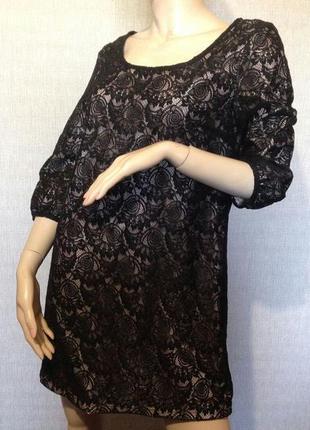 Ажурное гипюровое платье sant tropez