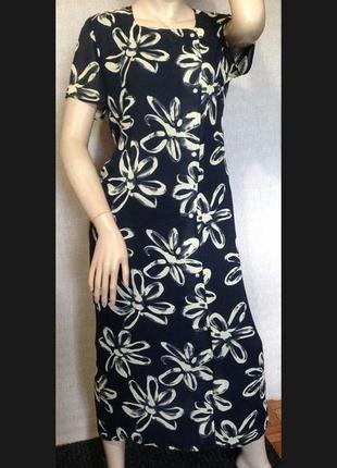 Длинное платье-халат, макси платье windsmoor