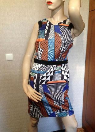 Яркое весеннее платье topshop