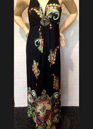Красивое макси платье wallis