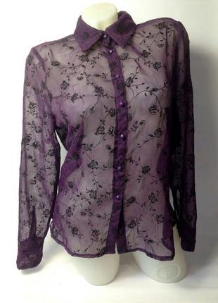 Шикарная шифоновая блузка