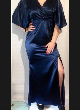 Шикарное вечернее,нарядное длинное платье luxury