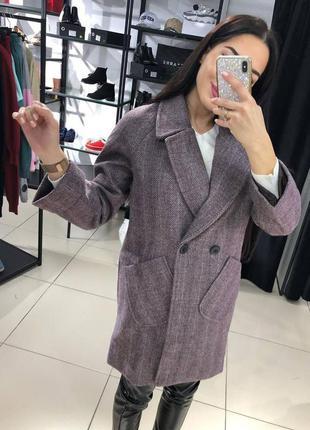 Пальто на подкладке разные цвета кашемир