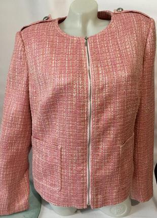 Стильный жакет,пиджак  на молнии
