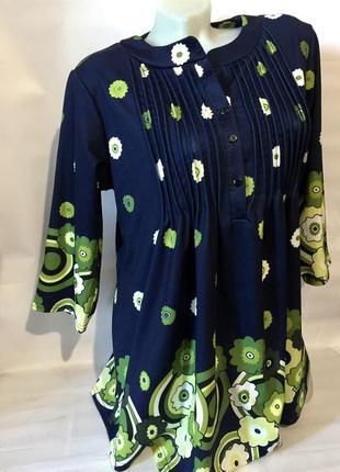 Красивая блузка,кофточка в цветы