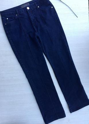 Отличные зауженные джинсы с высокой посадкой per una