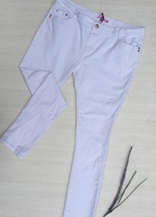 Белые джинсы скинни denim co