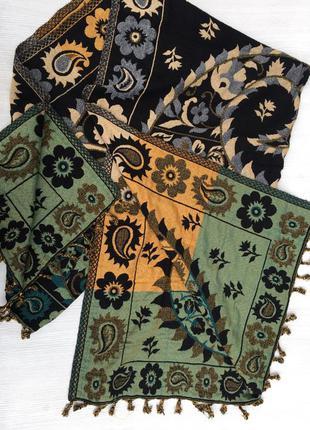 Шикарный большой палантин,шарф