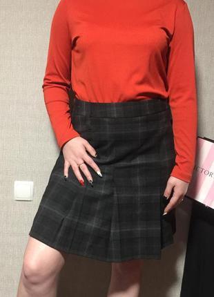 Стильная тёплая юбка