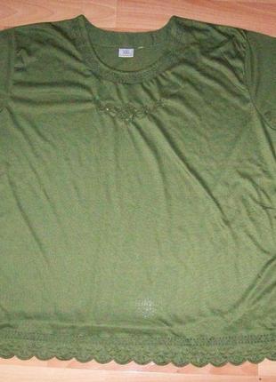 Красивая футболка, большой размер