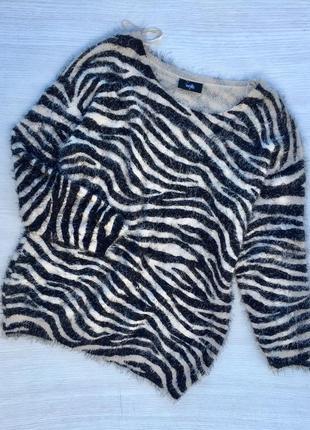 Тёплый пушистый свитер wallis