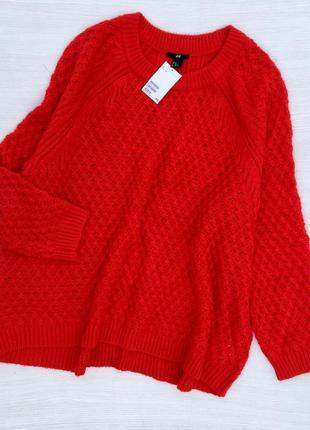 Стильный свитер h&m большого размера,оверсайз