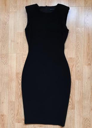 Черное платье zara, р.s
