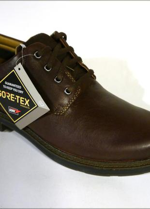 Clarks un tread lo gore-tex туфли ботинки оригинал