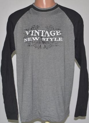 Футболка, длинный рукав reward (l) vintage new style