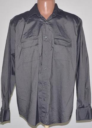 Фирменная рубашка стрейч linea (l)