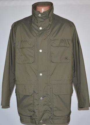 Непромокаемая куртка в стиле милитари greenfield (m) мембрана ...