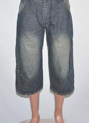 Фирменные джинсовые шорты expens (m)