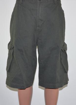 Фирменные, новые шорты карго firetrap (xl) плотные.