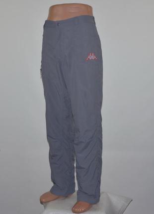 Фирменные туристические штаны kappa (m) италия.