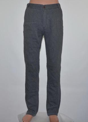 Тёплые, зауженные брюки фирмы firetrap (s) новые.