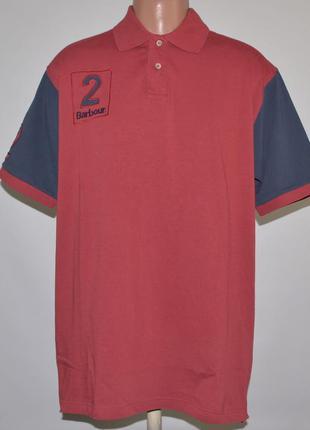 Футболка-поло barbour polo team (xl)