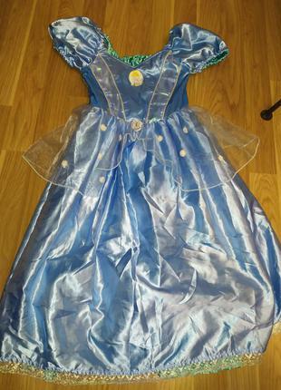 Двусторонее платье золушка - русалочка 3-4 года