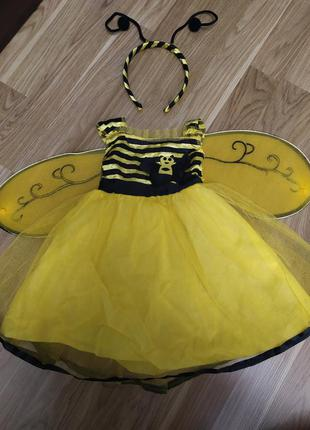 Платье пчёлка 1-2 года