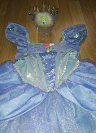 Платье золушка 5-6 лет