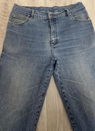 Качественный котон мужские синии джинсы