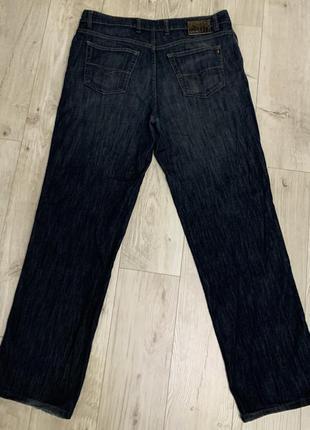 Мужские синие джинсы штаны