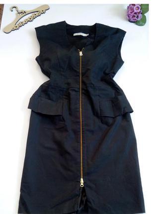 Платье миди 48 размер нарядное футляр офисное  на молнии 14 фе...