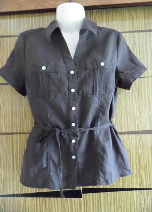 Блуза лен tu размер 14 – идет на 48-50.