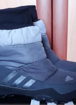 Сапоги/ ботинки/ дутики adidas libria poca 23,5-24