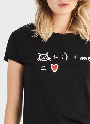 10-74 жіноча футболка sinsay женская футболка