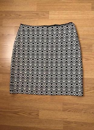 Красивейшая юбка-карандаш бренда m&s англия. новая. р-р xl/48-...