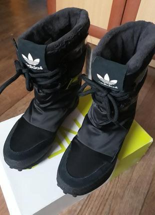 Сапоги/ дутики adidas snowrush 23,5