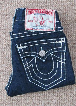 True religion ricky super t джинсы made in usa оригинал (w30) ...