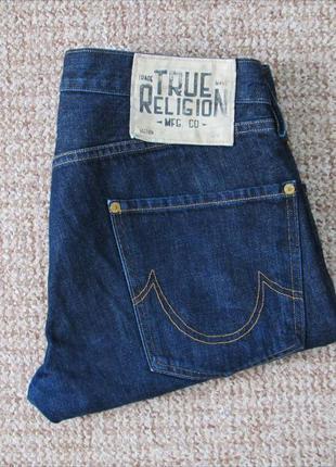 True religion rocco джинсы made in usa оригинал (w31 l32)