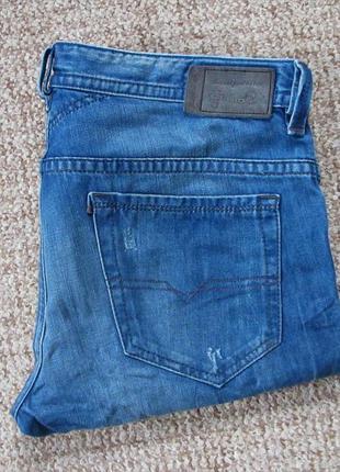Diesel thavar джинсы slim skinny оригинал (w33 l34) сост.идеал