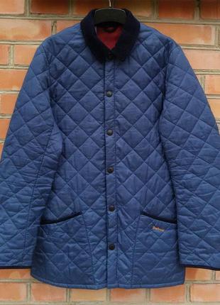Barbour стеганка куртка оригинал (s-m) сост.идеал