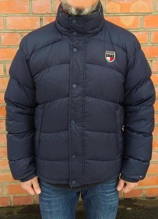 Tommy hilfiger пуховик куртка оригинал (xl) сост.идеал
