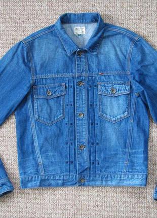 Tommy hilfiger ian jacket джинсовая куртка оригинал (s) сост.и...