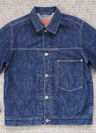 Levi's джинсовая куртка оригинал (s)