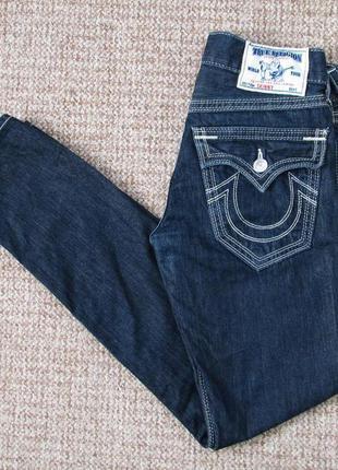True religion skinny джинсы made in usa оригинал (w29) сост.идеал